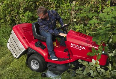 Honda grasmaaier elektrische starter